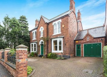 Thumbnail 4 bed detached house for sale in Egginton Road, Etwall, Derby