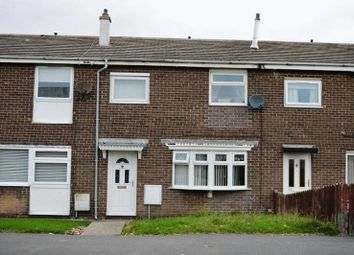 Thumbnail 2 bed terraced house to rent in Ridgeway, Ashington