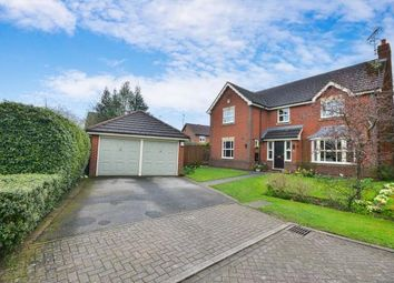 Thumbnail 4 bed detached house for sale in Oakleaf Crescent, Sutton-In-Ashfield, Nottinghamshire, Notts