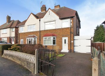Thumbnail 3 bedroom semi-detached house for sale in Welbeck Road, Long Eaton, Nottingham