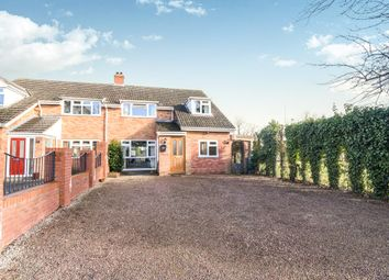 Thumbnail 3 bed semi-detached house for sale in Crown East Lane, Lower Broadheath, Worcester