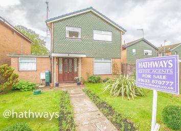 Thumbnail 4 bed detached house for sale in Llwyn Onn, Croesyceiliog, Cwmbran