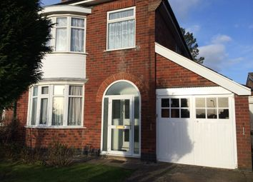 Thumbnail 3 bed semi-detached house to rent in Romway Road, Leicester