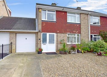 Thumbnail 3 bed semi-detached house for sale in Mercer Way, Chart Sutton, Maidstone, Kent