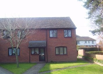 Thumbnail 1 bed flat to rent in Wyelands Close, Hinton, Hereford
