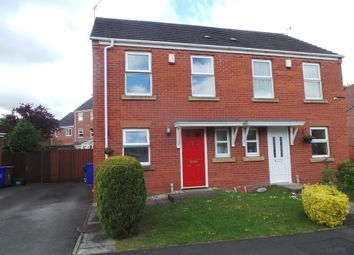 Thumbnail 2 bed semi-detached house for sale in Smallwood Close, Heron Cross, Stoke-On-Trent