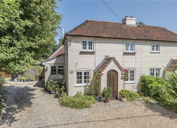 Thumbnail 3 bed semi-detached house for sale in Mount Road, Highclere, Newbury, Hampshire