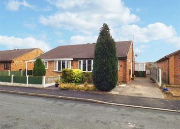 Thumbnail 2 bed semi-detached bungalow for sale in Redland Crescent, Kinsley, Pontefract, West Yorkshire