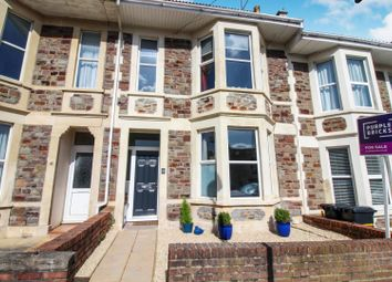 Thumbnail 3 bed terraced house for sale in Strathmore Road, Bristol