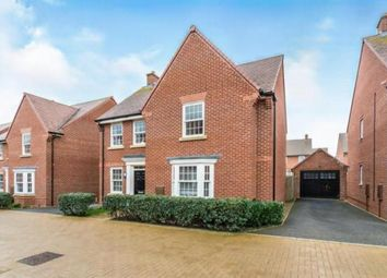 Thumbnail 4 bed detached house for sale in Little Beanhills, Marston Moretaine, Bedford, Bedfordshire