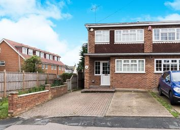 Thumbnail 3 bed semi-detached house to rent in Mill Road, Hawley, Dartford