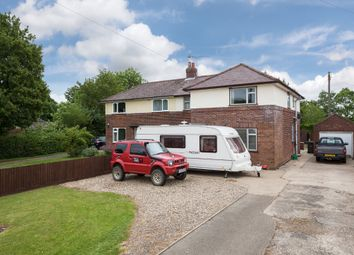 Thumbnail 3 bed semi-detached house for sale in Erratts Hill, Cowlinge, Suffolk
