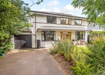 Thumbnail 5 bed detached house for sale in Ennismore Avenue, Guildford