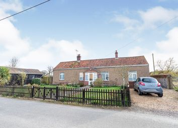 Thumbnail 2 bed detached bungalow for sale in Chapel Street, Southrepps, Norwich