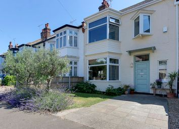 Thumbnail 3 bed terraced house for sale in Shaftesbury Avenue, Southend-On-Sea
