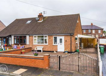 Thumbnail 2 bed semi-detached bungalow for sale in Woburn Avenue, Leigh, Lancashire