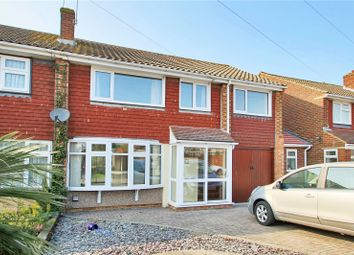 Thumbnail 5 bed semi-detached house for sale in Crockenhall Way, Istead Rise, Kent