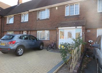 Thumbnail 4 bed terraced house to rent in Grovestile Waye, Bedfont, Feltham