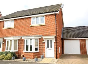 Thumbnail 2 bed semi-detached house for sale in Valley View Drive, Great Blakenham, Ipswich, Suffolk