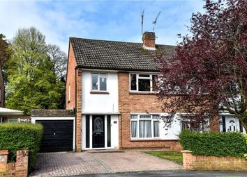 Thumbnail 3 bed semi-detached house for sale in Conifer Close, Church Crookham, Fleet