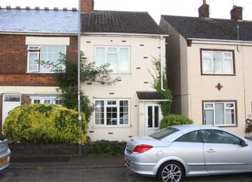 Thumbnail 2 bed end terrace house for sale in Sapcote Road, Stoney Stanton, Leicester