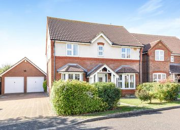 Thumbnail 4 bed detached house for sale in Church Farm Close, Bierton