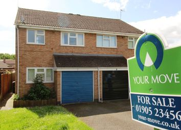 Thumbnail 3 bed semi-detached house for sale in Whitewood Close, Worcester