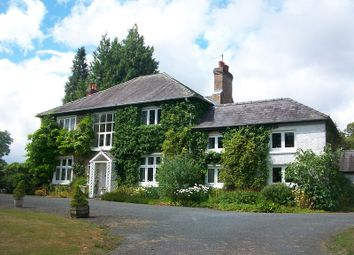 Thumbnail 6 bed detached house for sale in Nantgaredig, Carmarthen, Carmarthenshire.