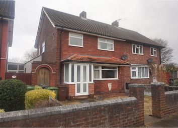 Thumbnail 3 bed semi-detached house for sale in Berwick Avenue, Southport