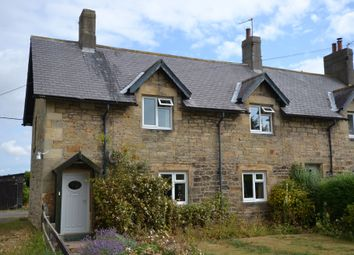 Thumbnail 2 bed cottage for sale in The Village, Acklington, Morpeth