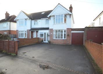 Thumbnail 3 bed semi-detached house for sale in St. Michaels Road, Tilehurst, Reading