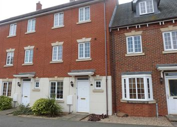 Thumbnail 4 bed town house to rent in Century Drive, Kesgrave, Ipswich