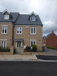 Thumbnail 3 bed end terrace house to rent in Kingsmere, Bicester