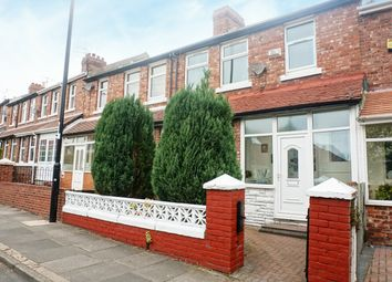 Thumbnail 3 bed terraced house for sale in Mount Road, Sunderland