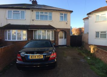 Thumbnail 4 bed semi-detached house to rent in Doghurst Drive, Hayes