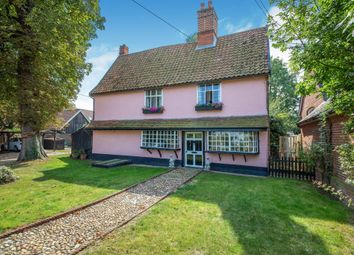 Thumbnail 3 bed detached house for sale in Shop Street, Worlingworth, Woodbridge