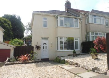 Thumbnail 3 bed end terrace house for sale in Sherwell Rise South, Torquay