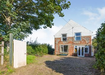 Thumbnail 3 bed detached house for sale in Hempstead, Holt, Norfolk