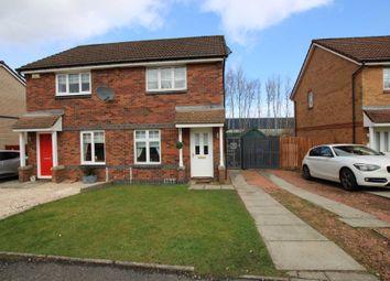Thumbnail 2 bed semi-detached house for sale in Doune Park Way, Coatbridge