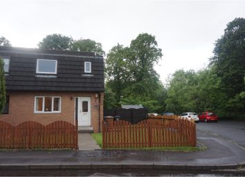 Thumbnail 1 bed end terrace house for sale in Mahon Court, Glasgow