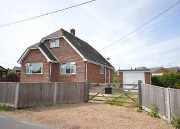 Thumbnail 3 bed detached bungalow for sale in Bull Hill, Pilley, Lymington