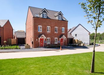 "Thumbnail 3 bed semi-detached house for sale in ""Greenwood"" at Wedgwood Drive, Barlaston, Stoke-On-Trent"