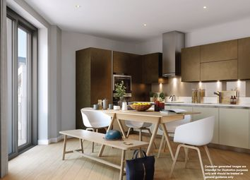Thumbnail 3 bed flat for sale in Roach Road, Hackney