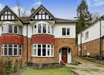 Thumbnail 3 bed semi-detached house for sale in Whyteleafe Hill, Whyteleafe, Surrey