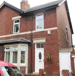 Thumbnail 3 bedroom semi-detached house for sale in Union Hall Road, Lemington, Newcastle Upon Tyne