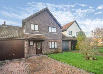 Thumbnail 4 bedroom link-detached house for sale in Middlemead, Folkestone, Kent