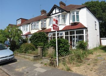 Thumbnail 4 bed end terrace house to rent in Oakway, Raynes Park, London