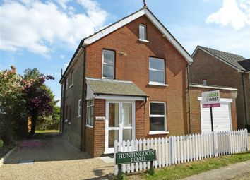 Thumbnail 4 bed detached house for sale in Huntingdon Road, Crowborough, East Sussex