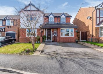 Thumbnail 4 bed detached house for sale in Lloyd Road, Prescot, Merseyside