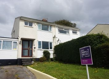 Thumbnail 3 bed semi-detached house for sale in Foster Drive, Bodmin